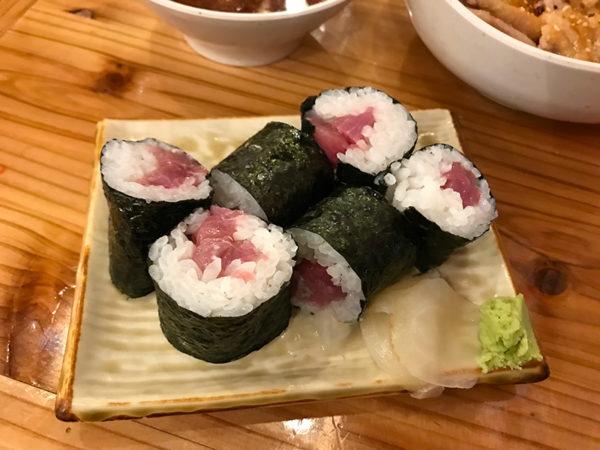 おくまん 宝塚 鉄火巻