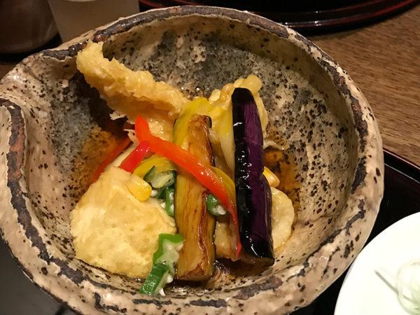 旬和席 うおまん 三ノ宮ミント神戸店 魚定食 甘酢あんかけ 天ぷら