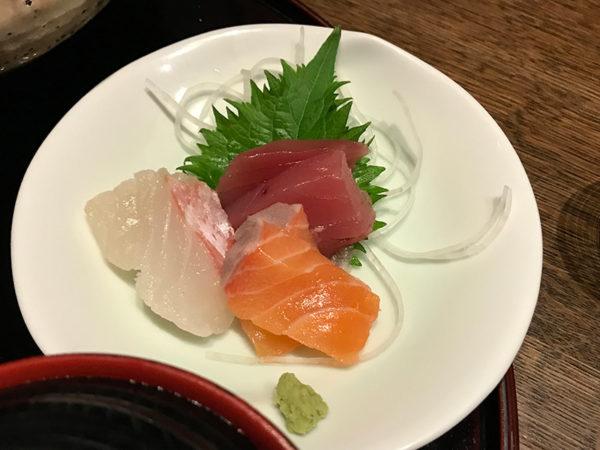旬和席 うおまん 三ノ宮ミント神戸店 魚定食 お造り お刺身