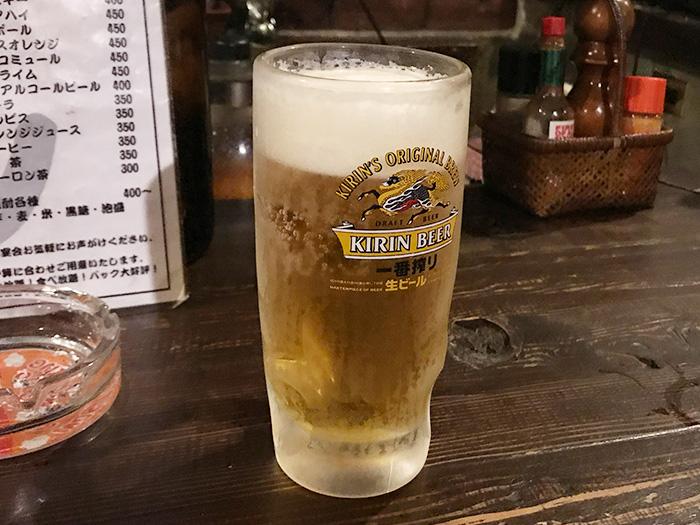 生ビール 宝塚 逆瀬川 居酒屋 運