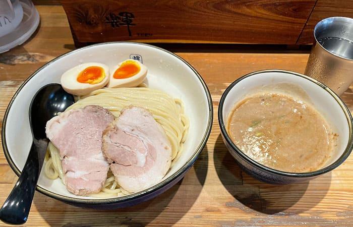 麺や輝 大阪 中津店 味玉つけ麺 麺 大