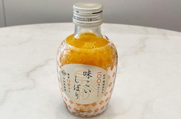 和歌山 有田みかん 早和果樹園 ジュース 味こいしぼり
