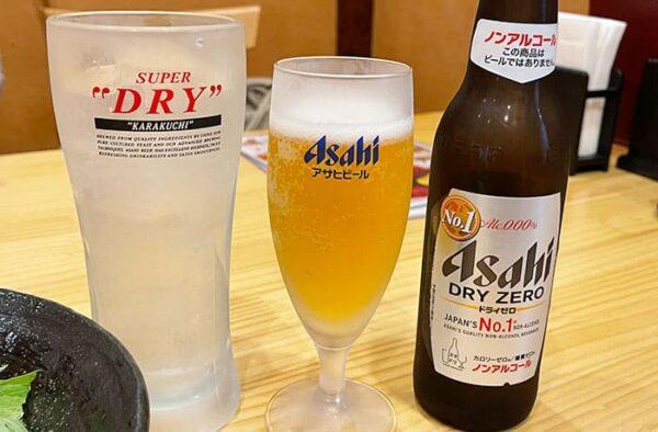 宝塚市 逆瀬川 アピア2 中華料理 ぱんだ楼 ノンアルコール ビール サワー