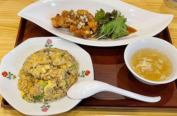宝塚市 逆瀬川 アピア2 中華料理 ぱんだ楼 ぱんだランチ チャーハン 油淋鶏